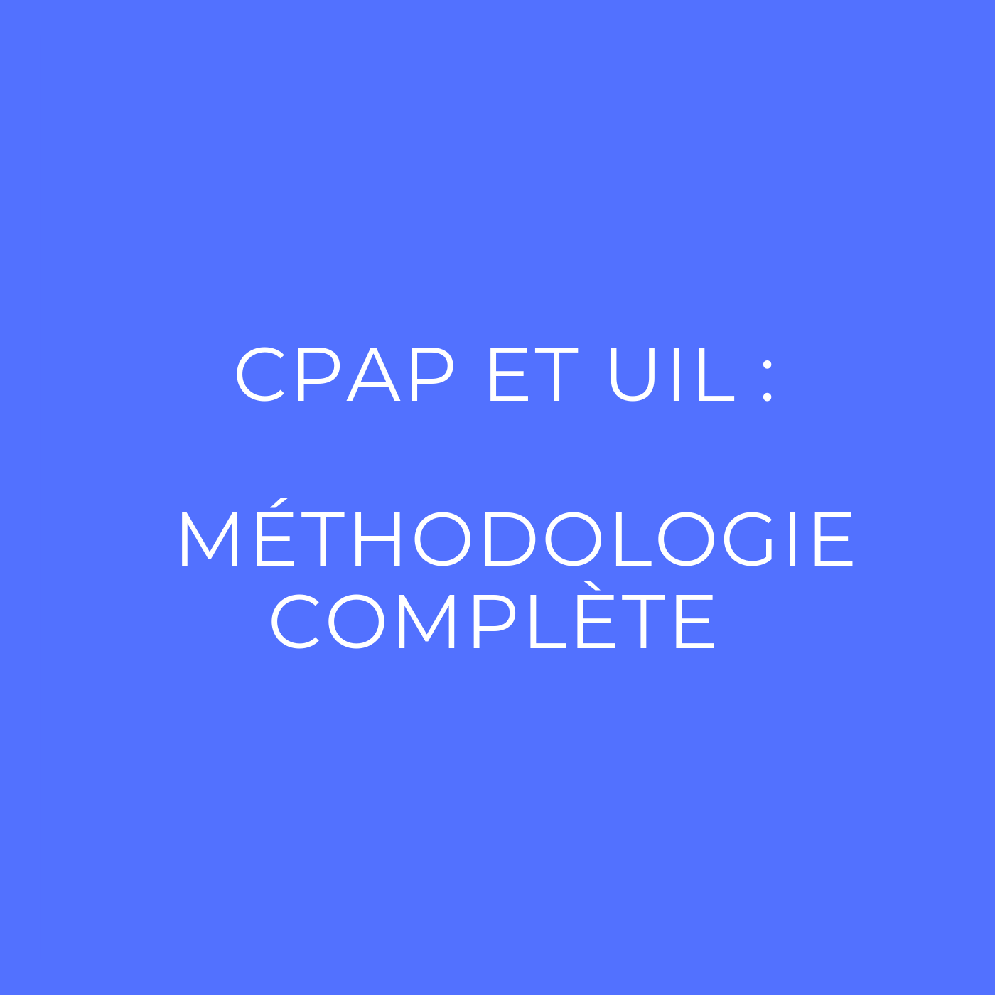 Épreuve CPAP du BTS PI : la méthodologie complète