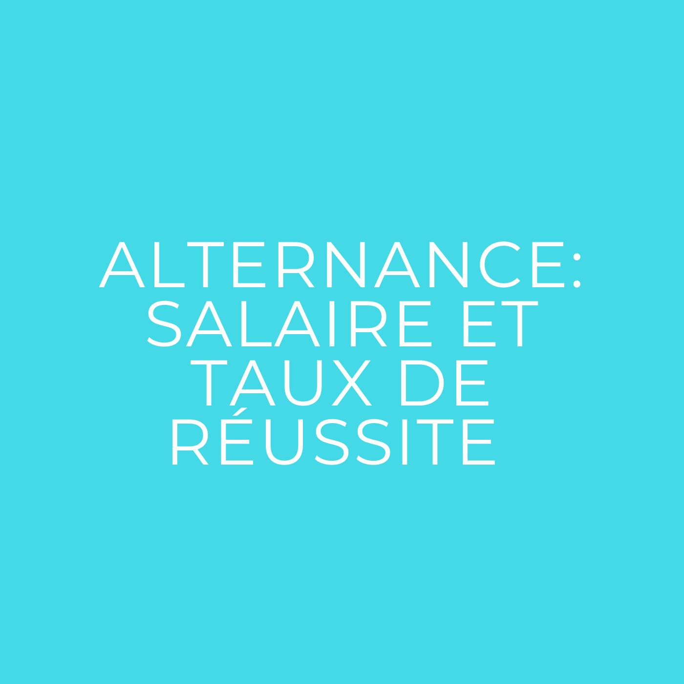 Alternance en BTS PI : salaire et taux de réussite